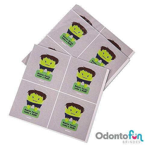 Adesivo Dente Hulk (20 unidades)