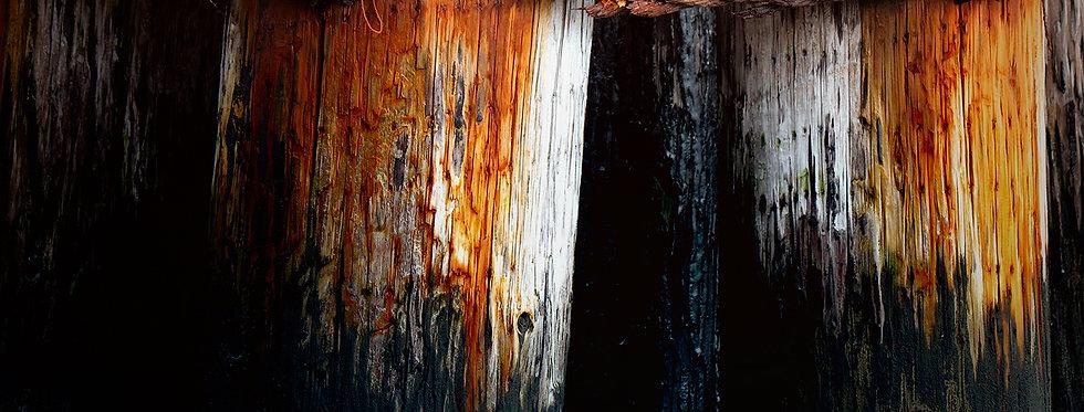 rusty posts