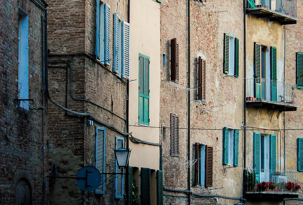 shutters of sienna