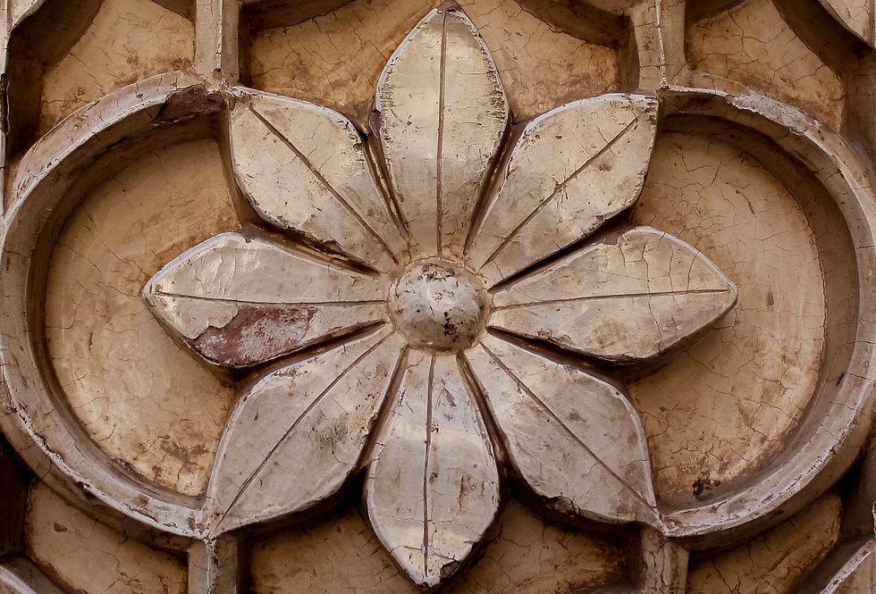 plaster flower