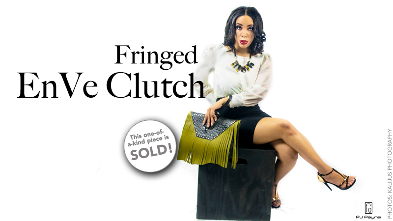Fringed EnVe Clutch