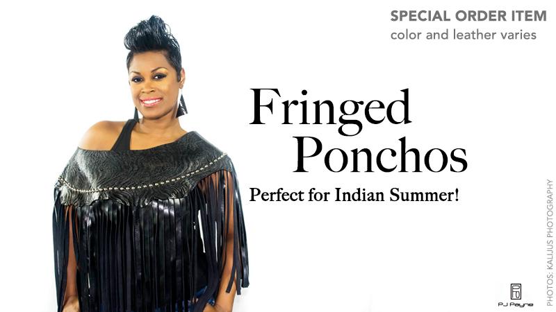 Special order ponchos