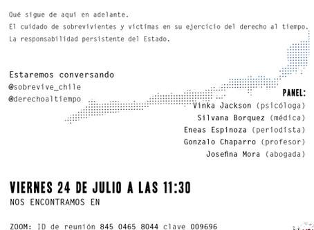 Mira el conversatorio a un año del #DerechoAlTiempo