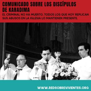 Comunicado: Discípulos de Karadima