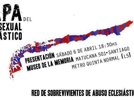 Lanzamiento del mapa chileno del abuso eclesiástico