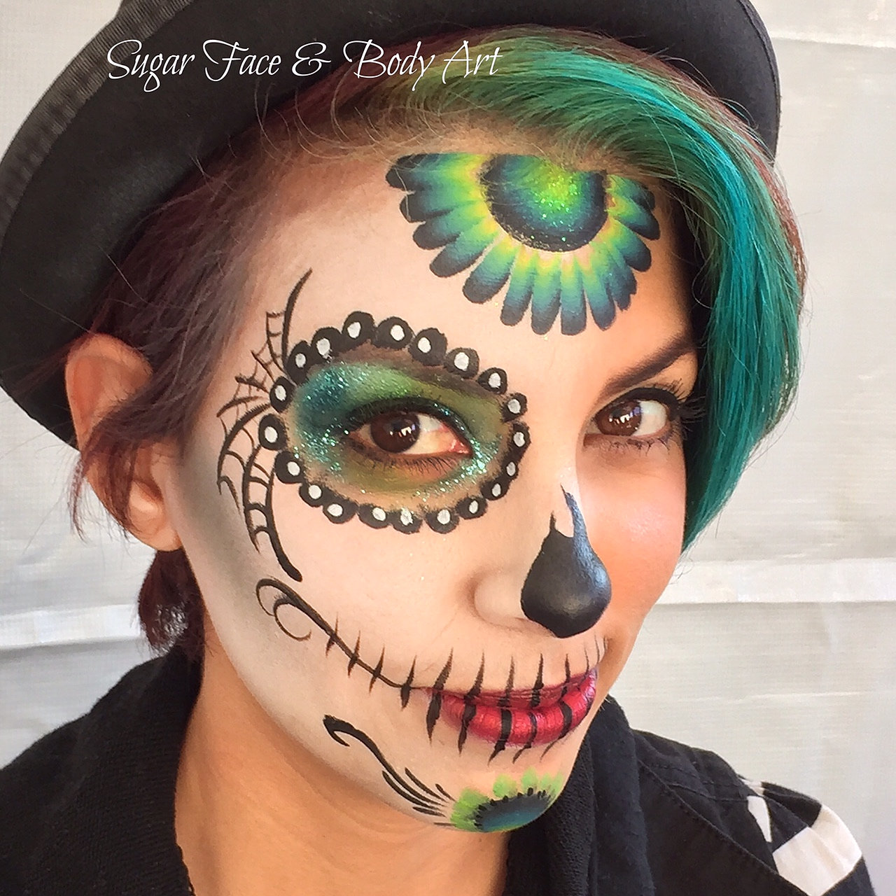 Pics Of Halloween Face Painting