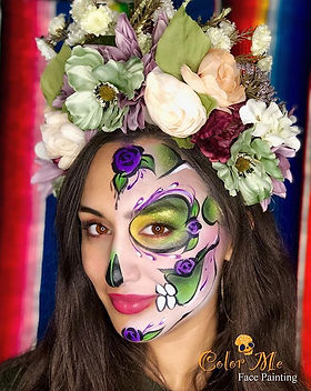 From the hundreds of face paintings I di