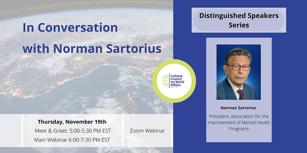 In Conversation with Norman Sartorius