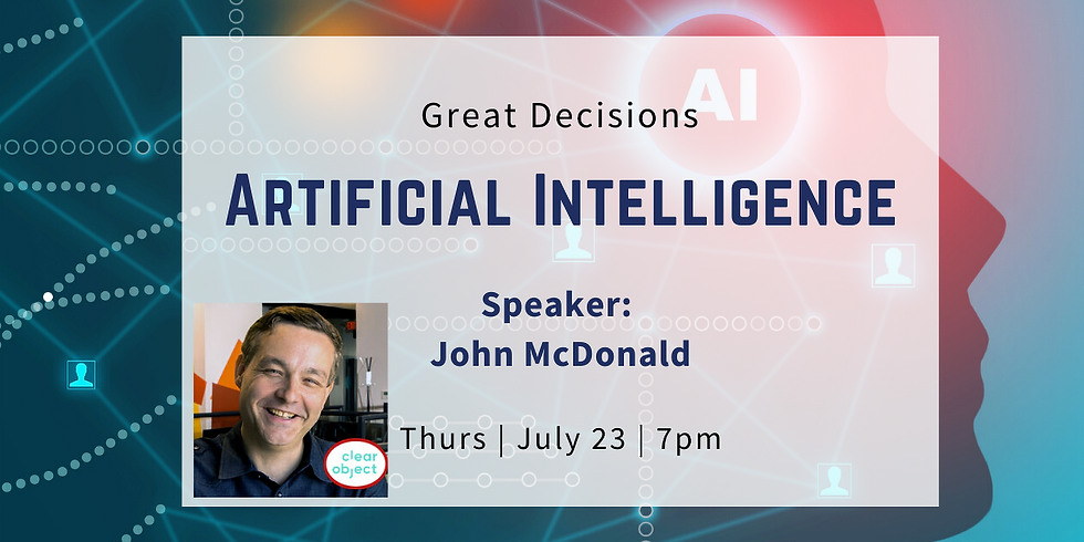 Great Decisions Program: Artificial Intelligence