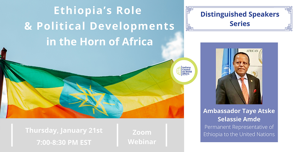 DS: Ethiopia's Role and Political Developments in the Horn of Africa