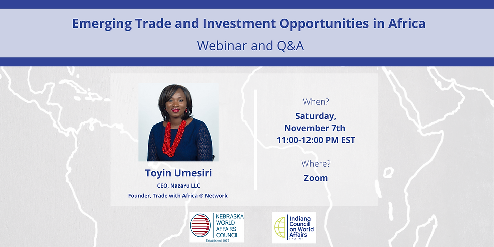 Emerging Trade and Investment Opportunities in Africa