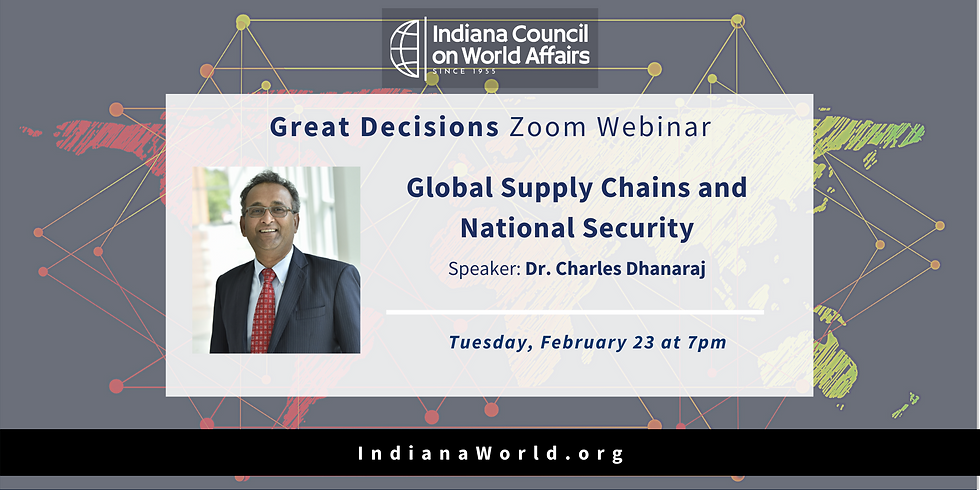 GD: Global Supply Chains and National Security