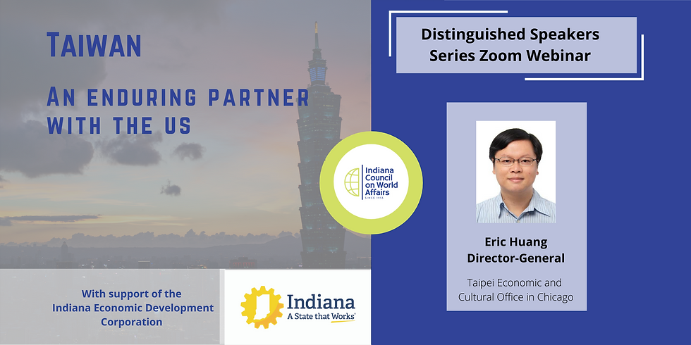 Distinguished Speakers Taiwan: An Enduring Partner with the US