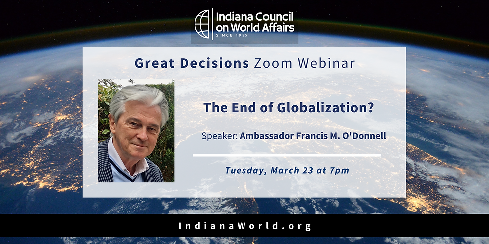 GD: The End of Globalization?