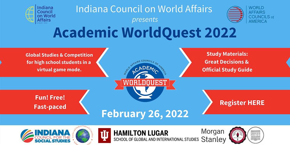 Academic WorldQuest 2022