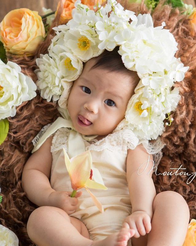 100 Days Baby Home Photography Session Package