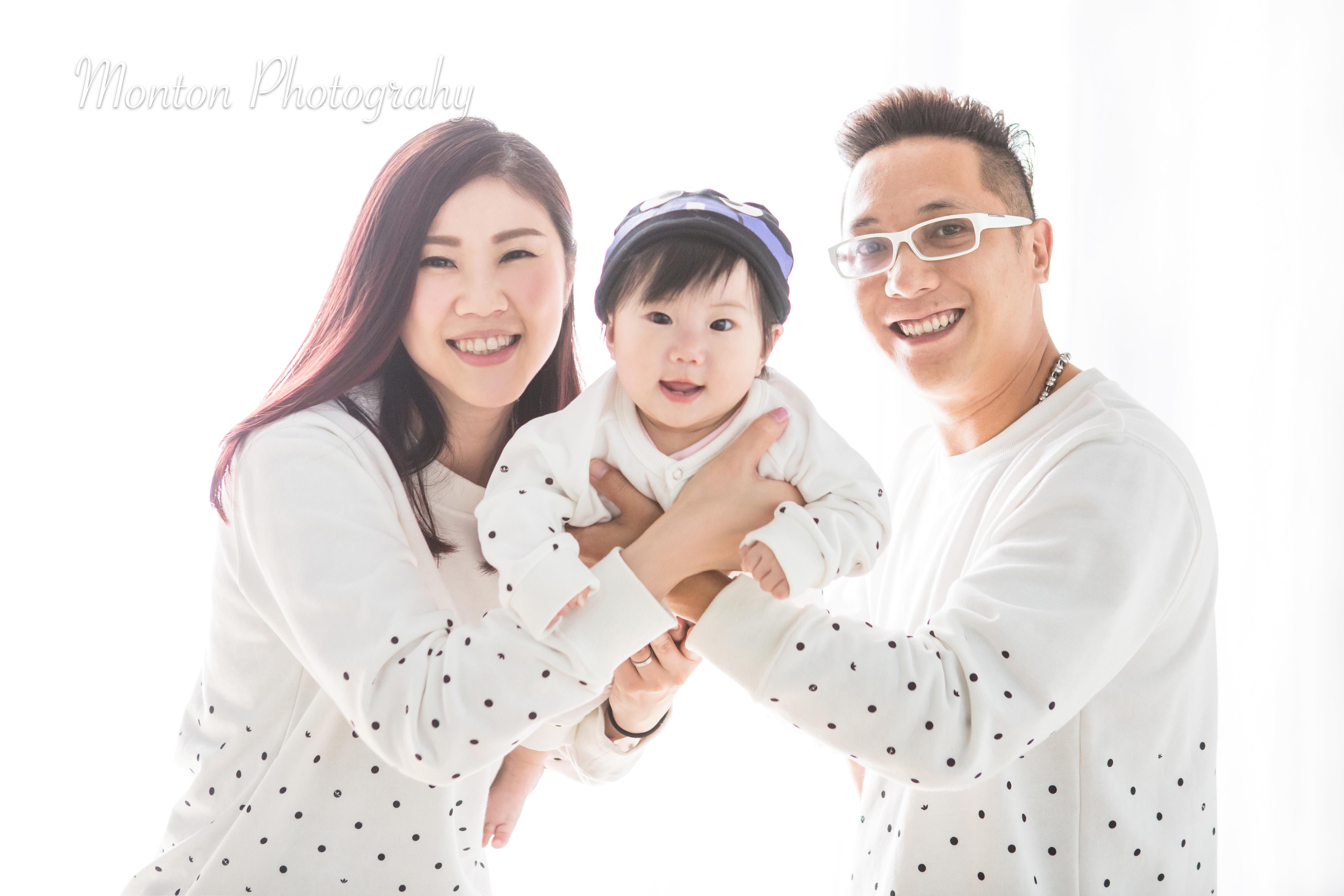 親子家庭影樓攝影