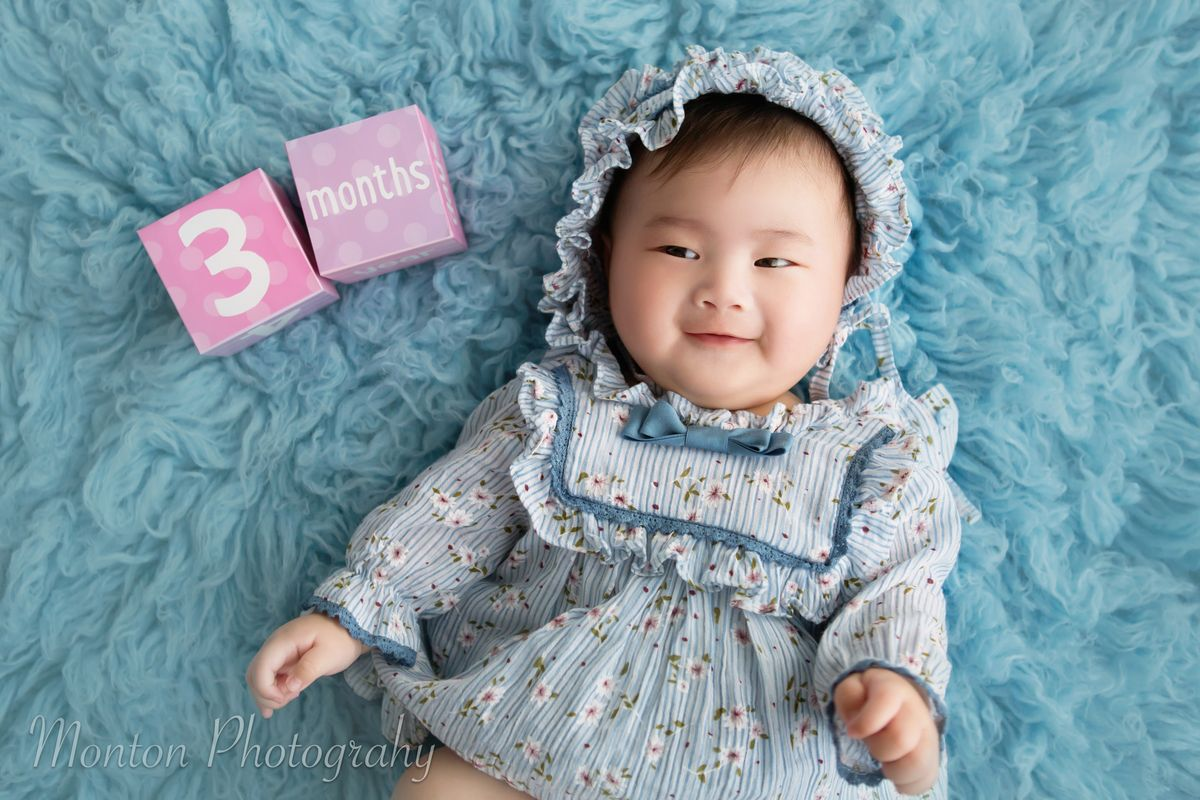 100 Days Baby Home Photography Sessi