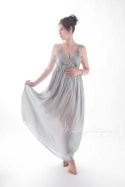 灰色大肚裙