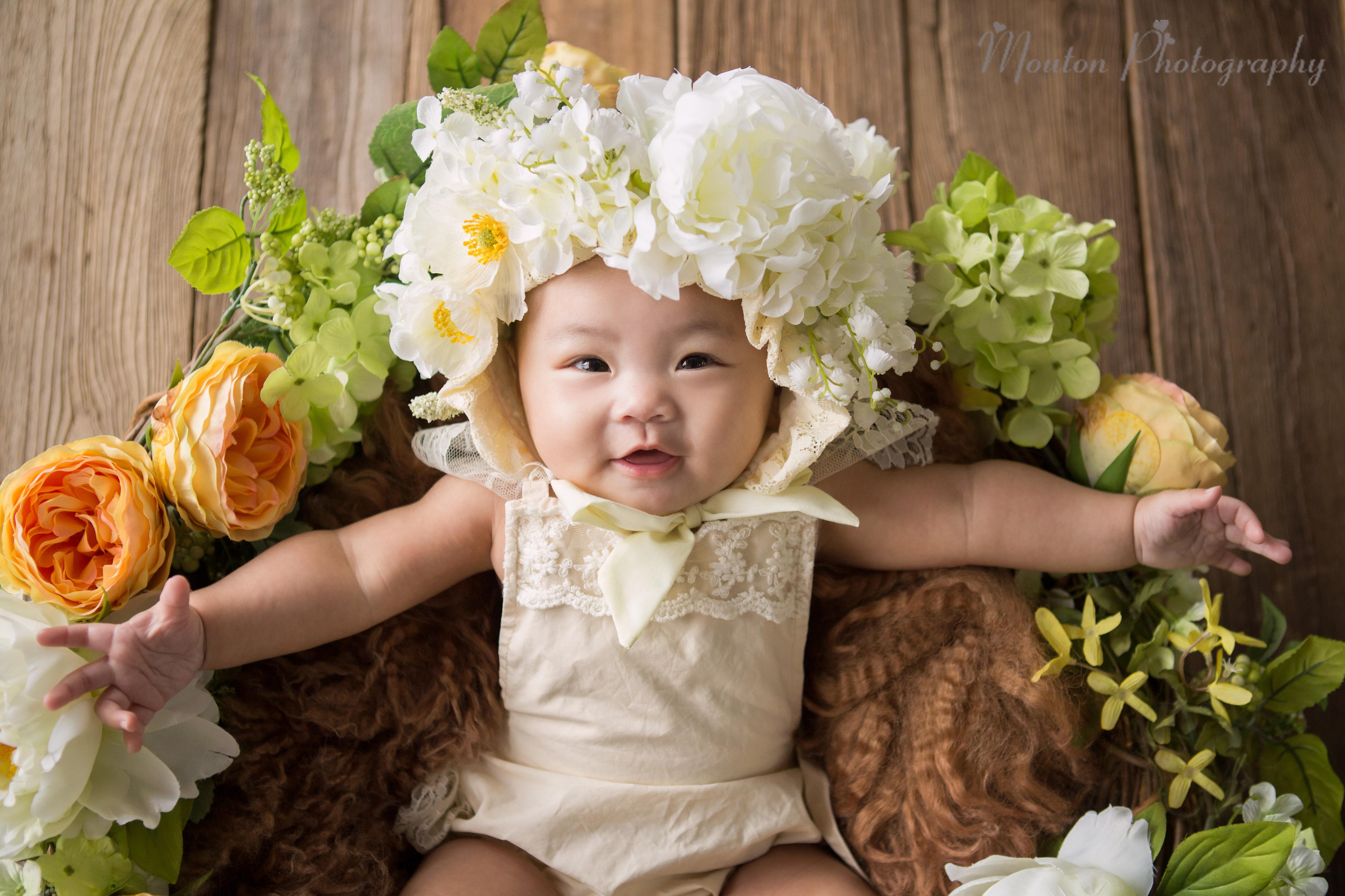 影樓BB嬰兒造型攝影