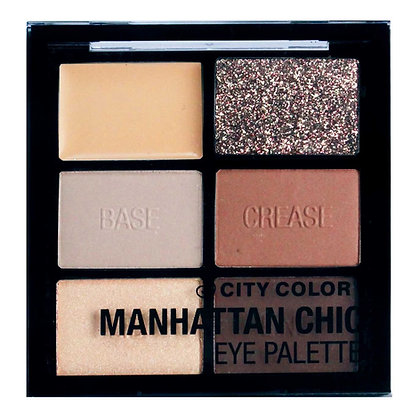 CITY COLOR - SOMBRAS MANHATTAN CHIC