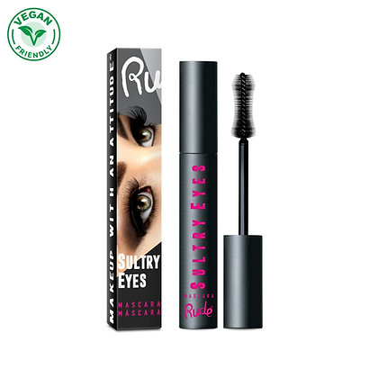 RUDE COSMETICS - MASCARA SULTRY EYES EXTREME FULL VOLUMEN