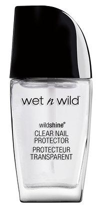 WET N WILD - ESMALTE WILD SHINE NAIL COLOR CLEAR NAIL PROTECTOR