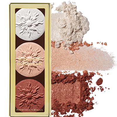 PHYSICIANS FORMULA - BRONZE BOOSTER HIGHLIGHT & CONTOUR PALETTE SHIMMER STROBING