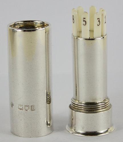 Silver Butt Marker