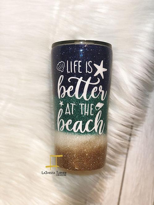 Life Beach Tumbler