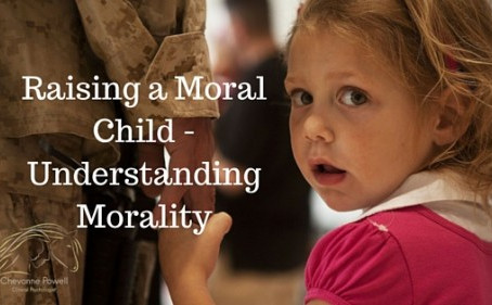 How to raise a moral child