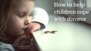 How to help children cope with divorce