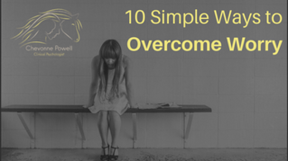10 Simple ways to overcome worry