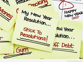 New Year Resolutions and How to Keep Them