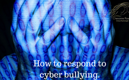 How to respond to cyberbullying