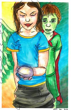 Alzbeta & the Green Boy