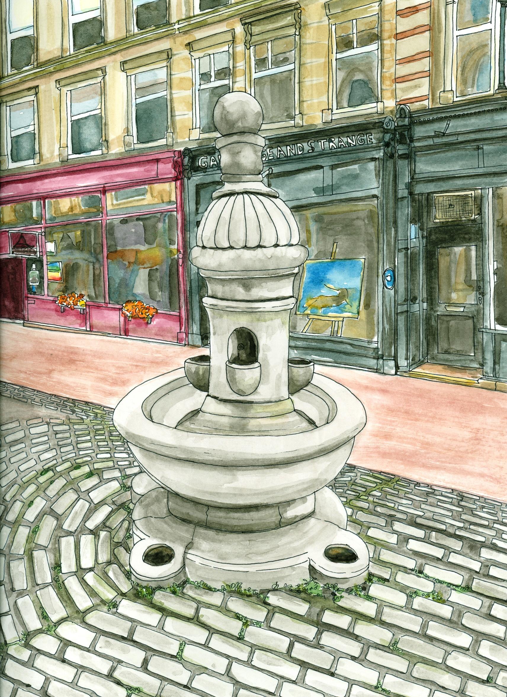 Public Fountain, Granville Market