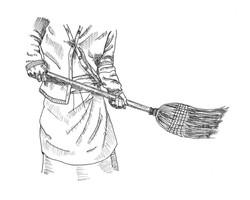 Auntie Siobhan's Broom