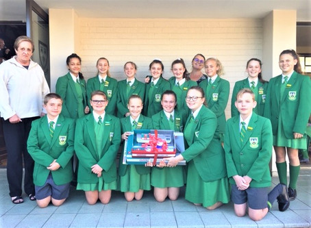Learners raise R38,836 for St Bernard's