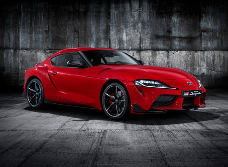 The New Toyota Supra unveiled
