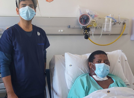 PE man celebrates life after a month in ICU due to Covid-19