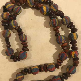 Hand Painted Necklace Utopia