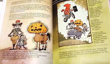 FairyTales, horseman, zombies, little red riding hood, robin hood