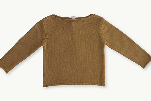 Boat Neck Pull Over - Harvest Gold