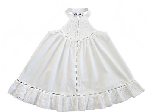 Tomie Dress- White