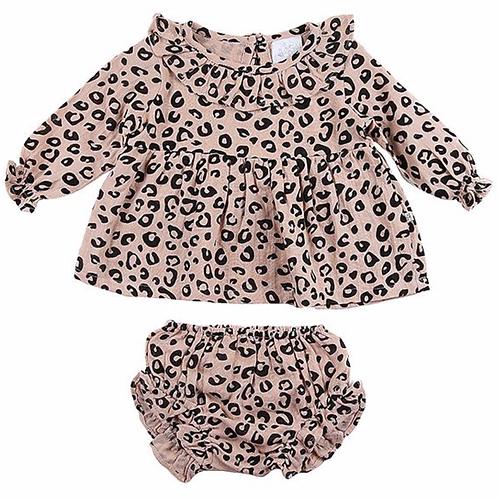 Ellie Set Blush Leopard