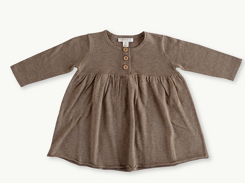 Baby Doll Dress - Mushroom