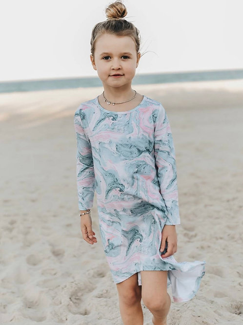 Ocean Swirl Dress
