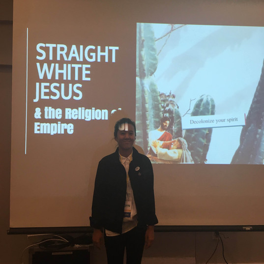 "78 ""Straight White Jesus"" Workshop at Th"