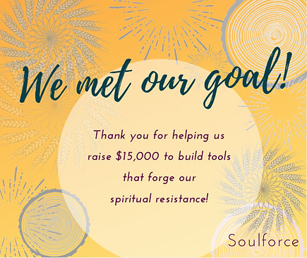we met our goal - spring campaign 2019.p